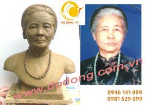 Đúc tượng chân dung, tượng nghệ sỹ Việt nam