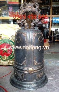 Bán chuông đồng đỏ 106cm 100kg – đồ đồng tâm linh