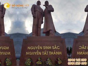 Cơ sở đúc tượng Bác Hồ, tượng đài, tượng Bác Hồ lưu niệm