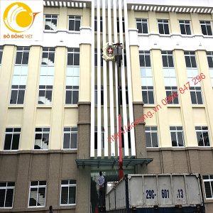 Công an hiệu lắp đặt tòa nhà cục an ninh cửa khẩu dk 2,4m