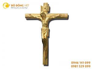 Tượng chúa jesus bằng đồng, tượng chúa jesus dát vàng 9999