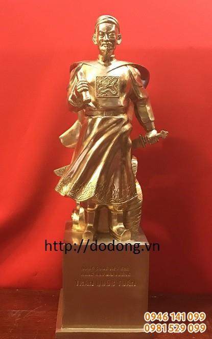 tượng đồng quà tặng đúc đồng bức tượng đúc đồng 30cm mẫu chuẩn đẹp