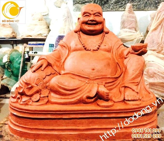 Mẫu tượng di lạc bằng đất sét được điêu khắc cao cấp do những nhà điêu khắc nổi tiếng