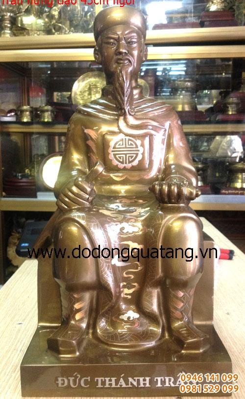 tượng thờ trần hưng đạo